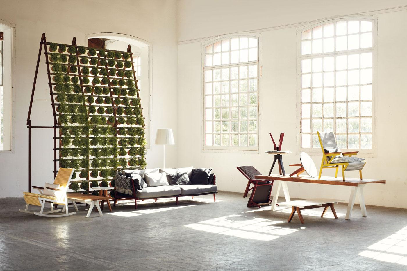 muebles salon galeria exterior kettal mallorca