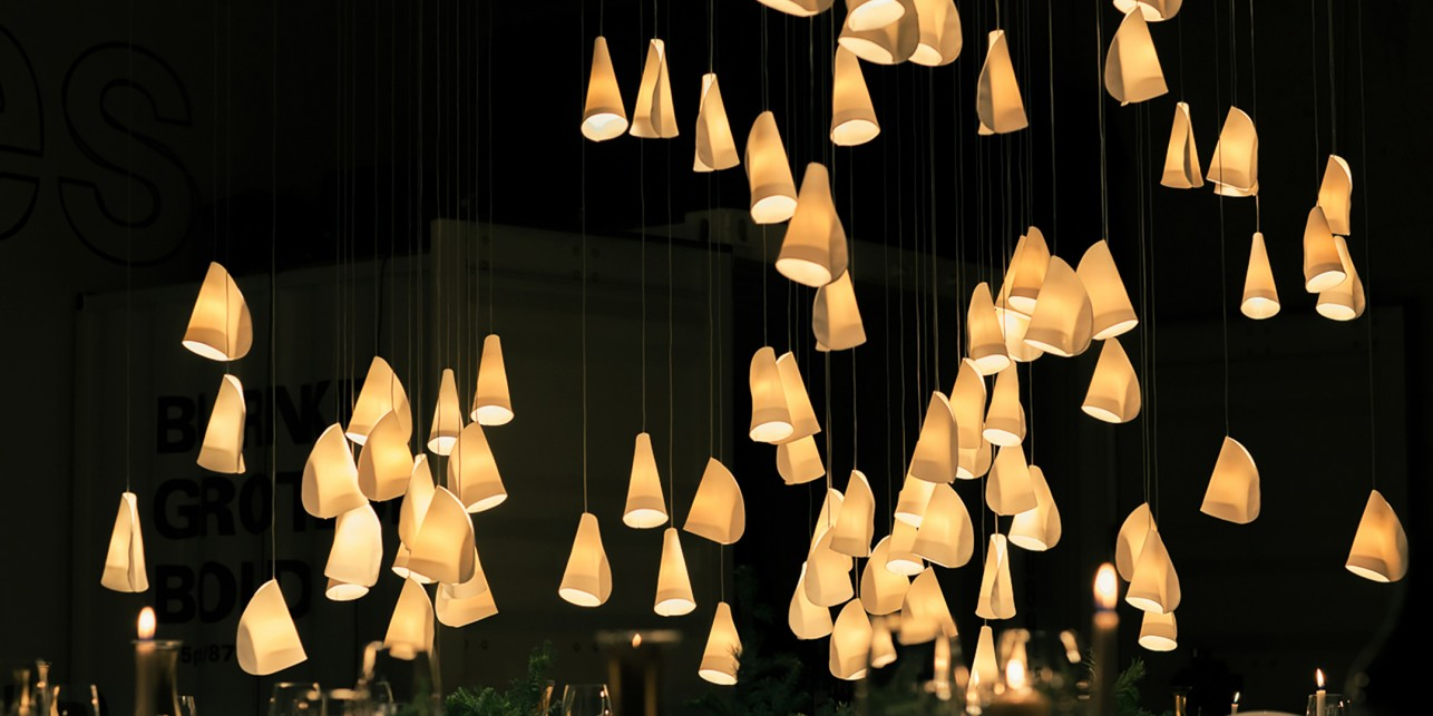 Lámparas cucurucho Bocci Mallorca