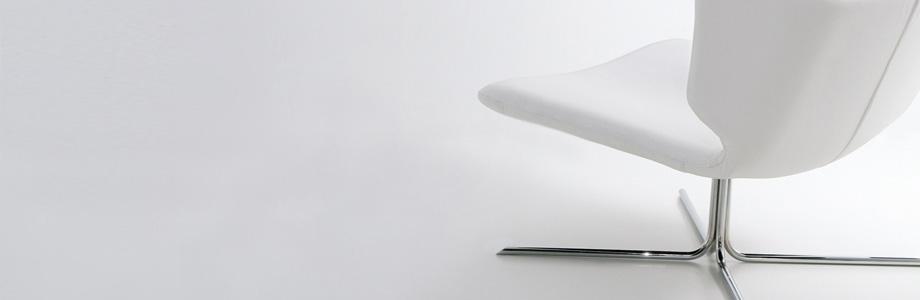 butaca blanca viccarbe muebles mallorca