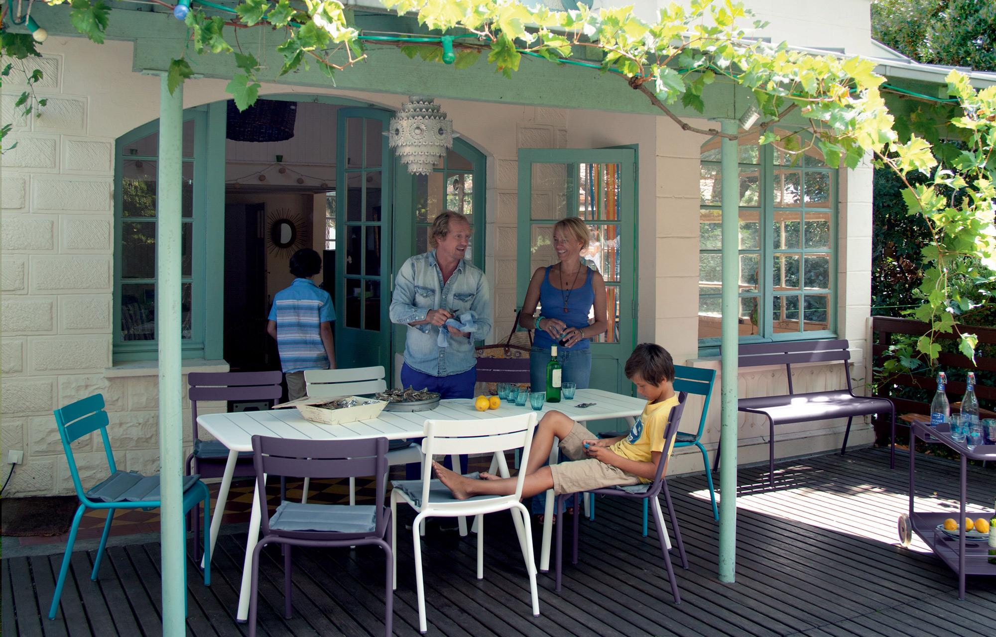 mesa comedor porche exterior fermob mallorca