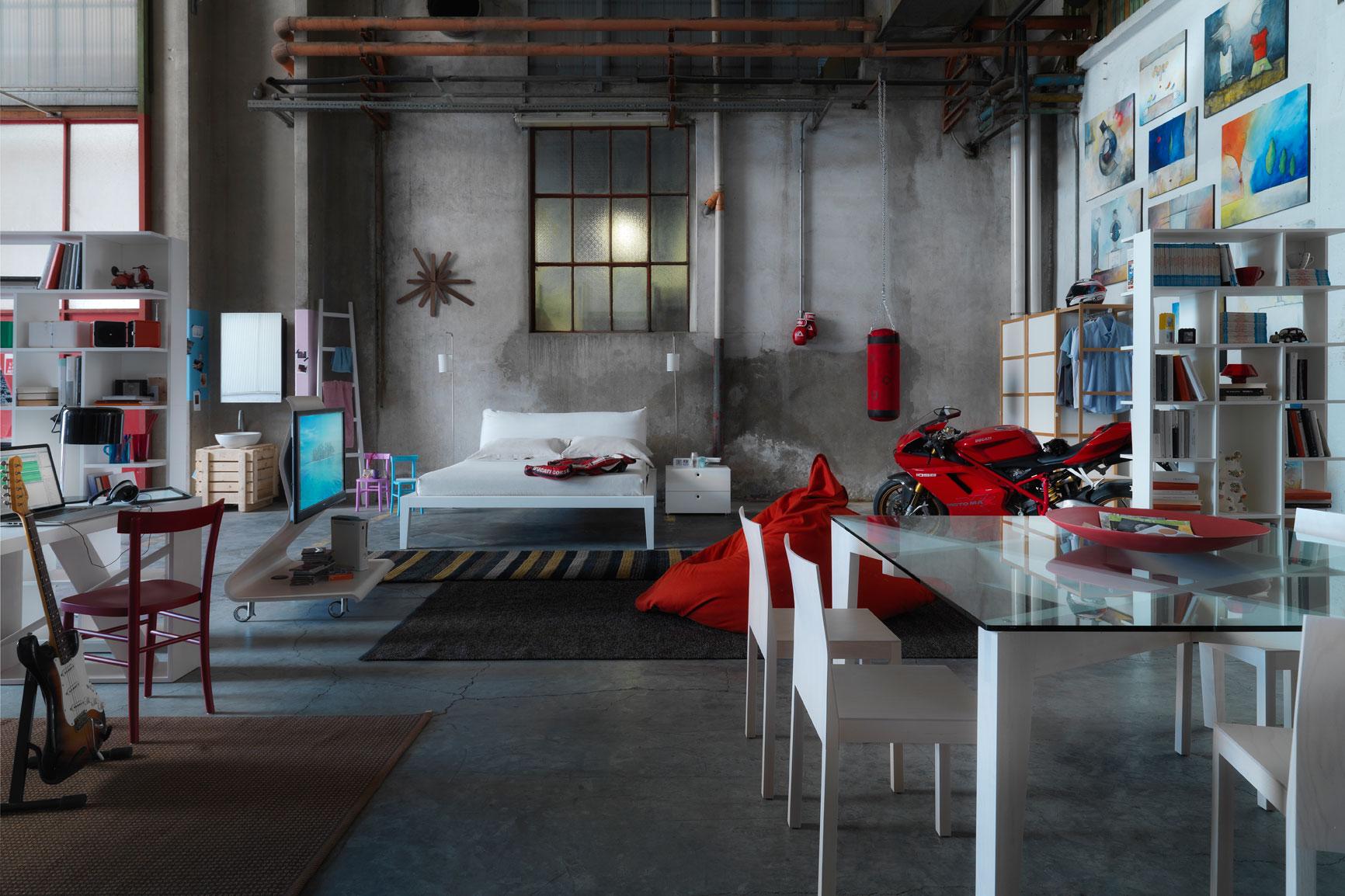 muebles dormitorio salon loft horm mallorca