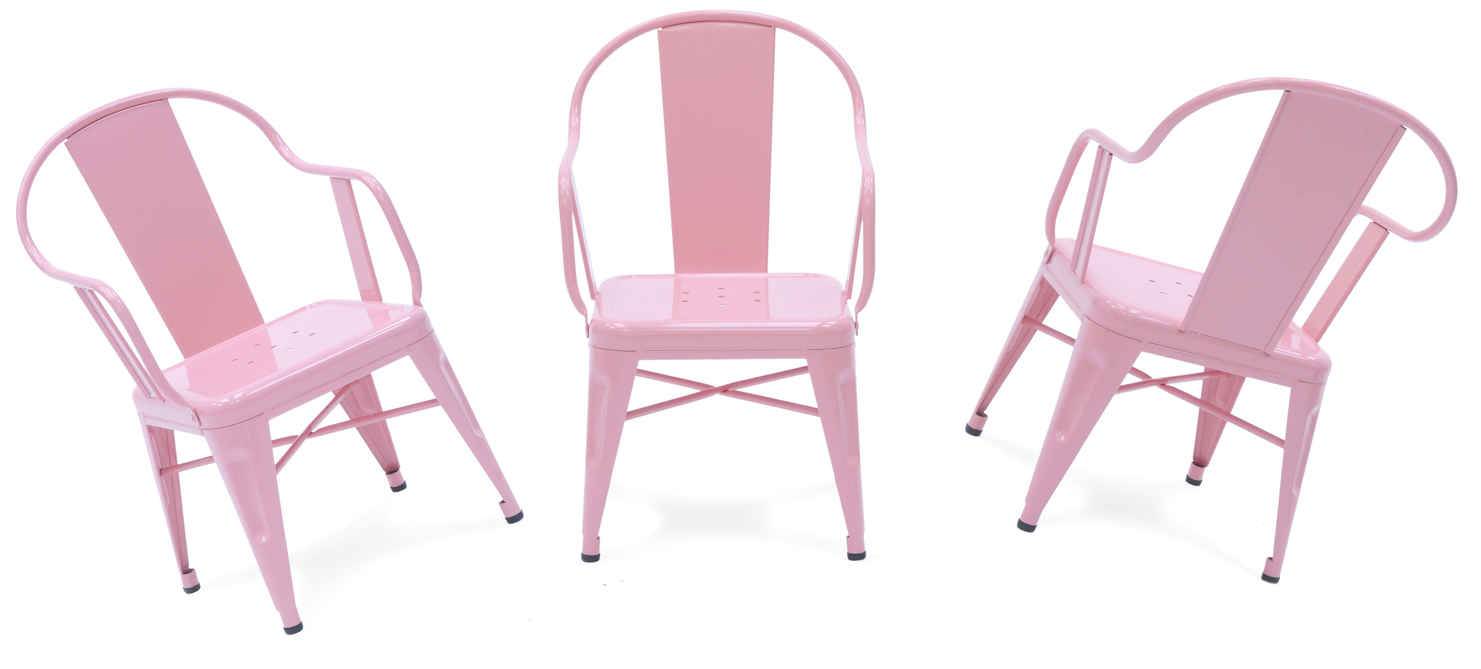 sillas pink tolix muebles mallorca