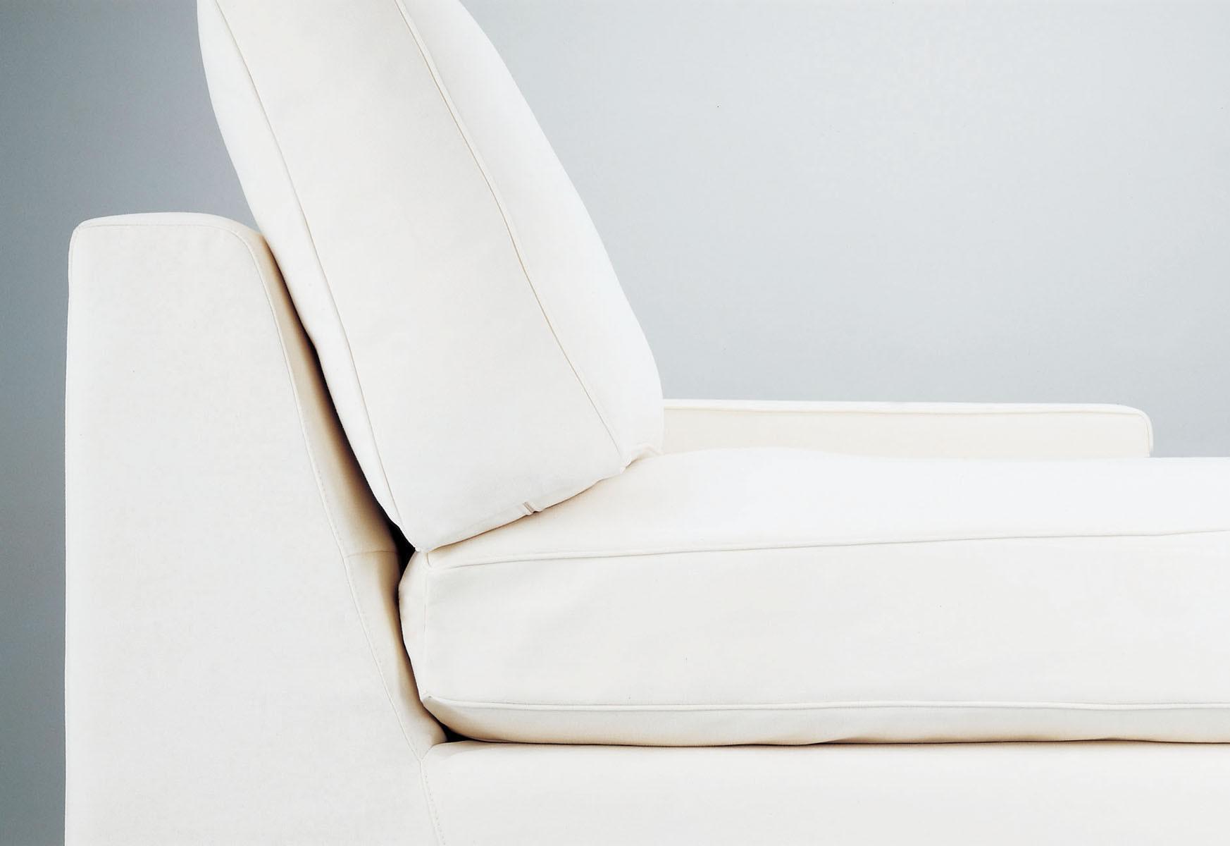 sofa blanco detalle Carmenes Mallorca