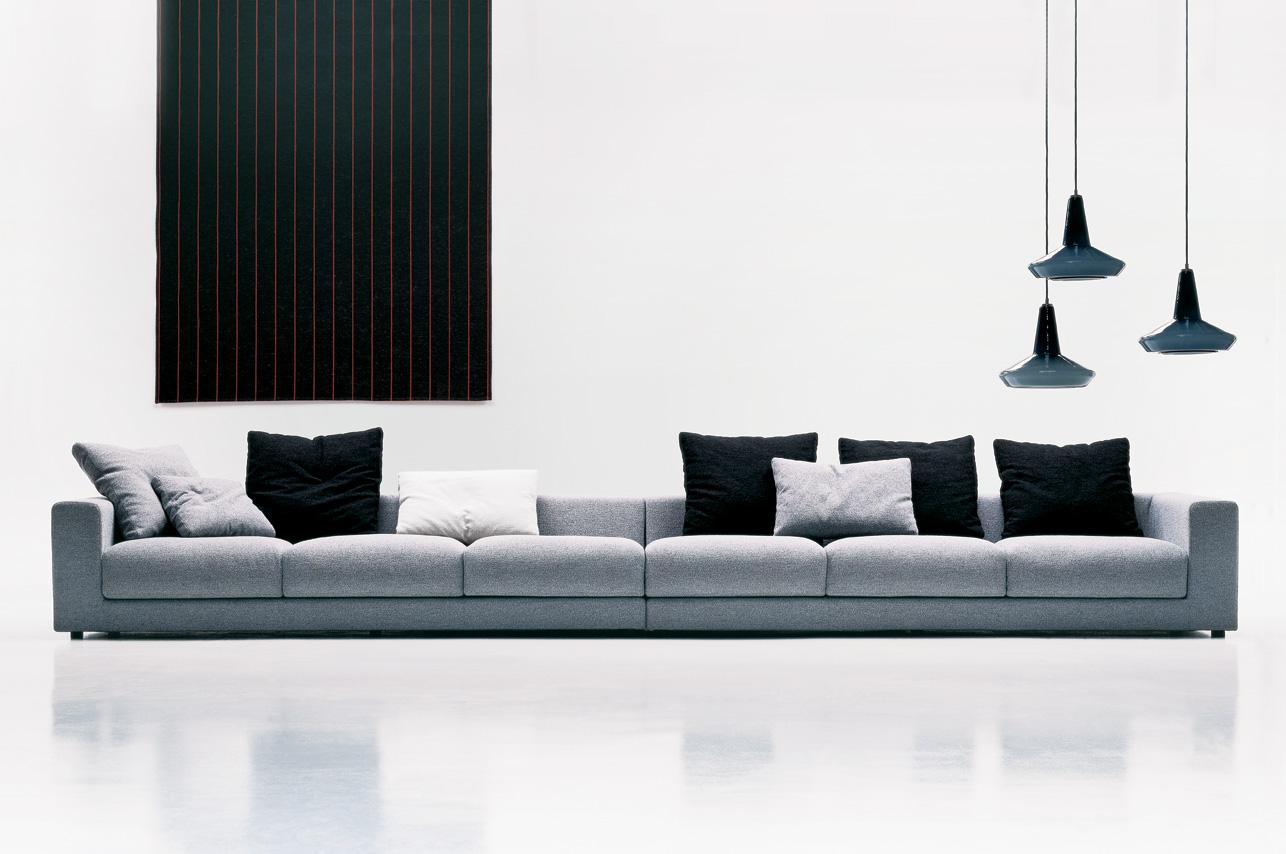 sofa loft gris carmenes mallorca