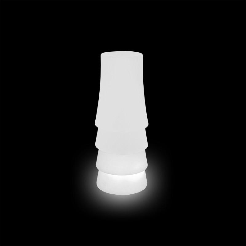 Slide lampara vertical de pie